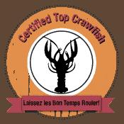 Best Crawfish Provider badge from CajunCrawfish.com